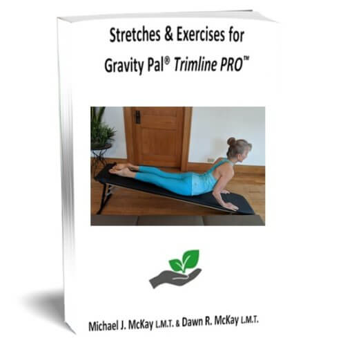 FINAL Book Cover for Stretches and Exercises for Trimline PRO